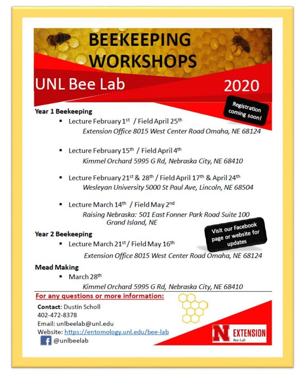 BeeKeeping Workshops 2020